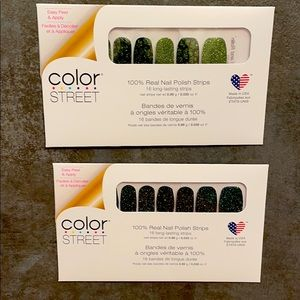Color Street Polish strips (lot of two)